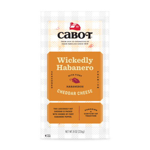 Wickedly Habanero Cheddar Cheese